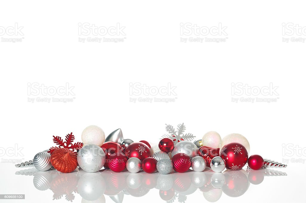 Christmas decoration - Background stock photo