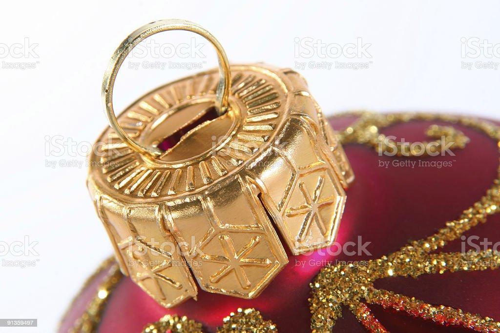 Christmas decoration ball royalty-free stock photo