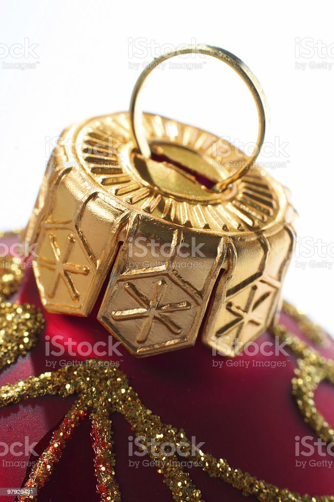 Christmas decoration ball royalty-free stock photo