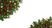 istock Christmas decoration frame 1186899476