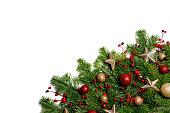 istock Christmas decoration frame 1282100064