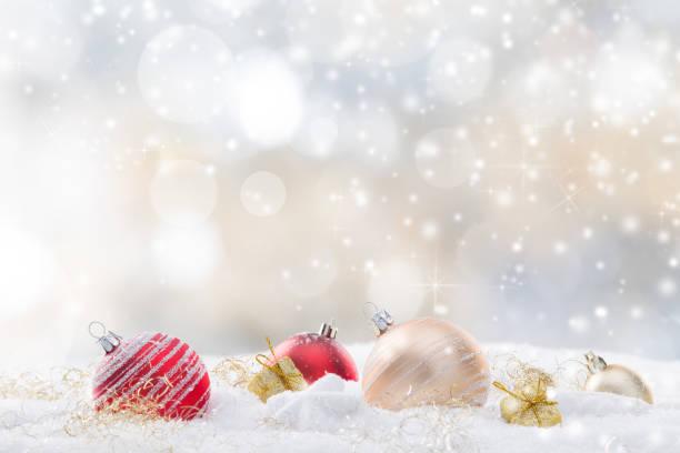 juldekoration på abstrakt bakgrund - julgransdekoration bildbanksfoton och bilder