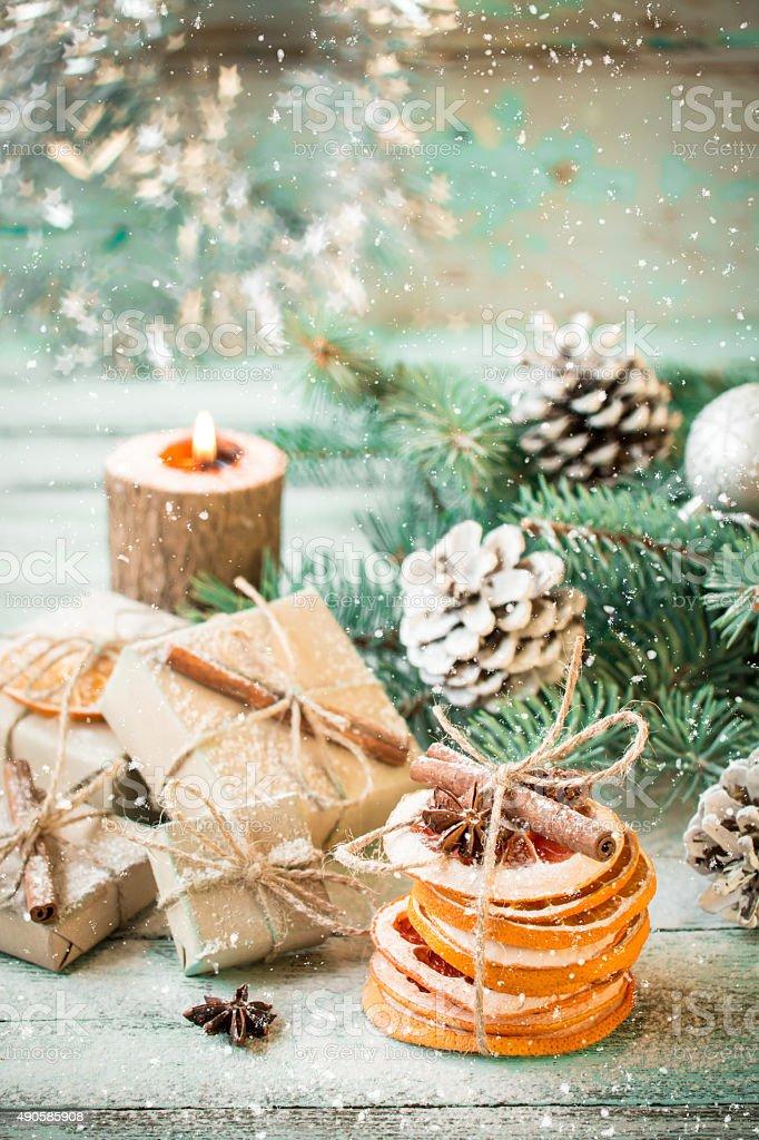 Sfondi natalizi vintage