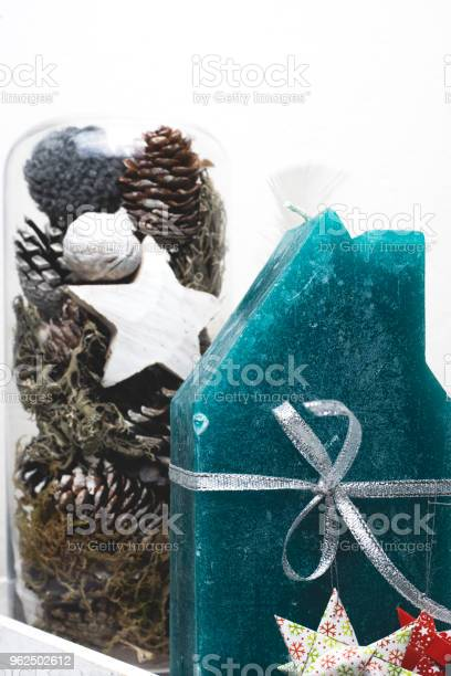Foto de Decoração De Natal Em Fundo Branco e mais fotos de stock de Alemanha