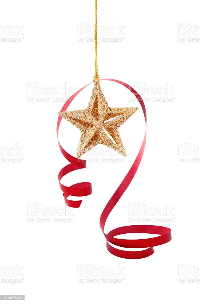 Décoration de Noël sur fond blanc. photo libre de droits