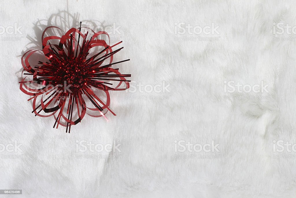 Christmas decoration on white royalty-free stock photo