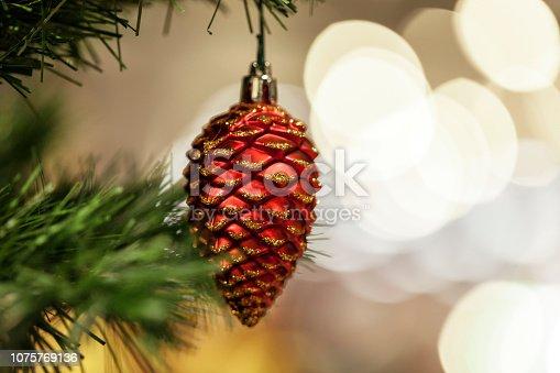 istock Christmas decoration 1075769136