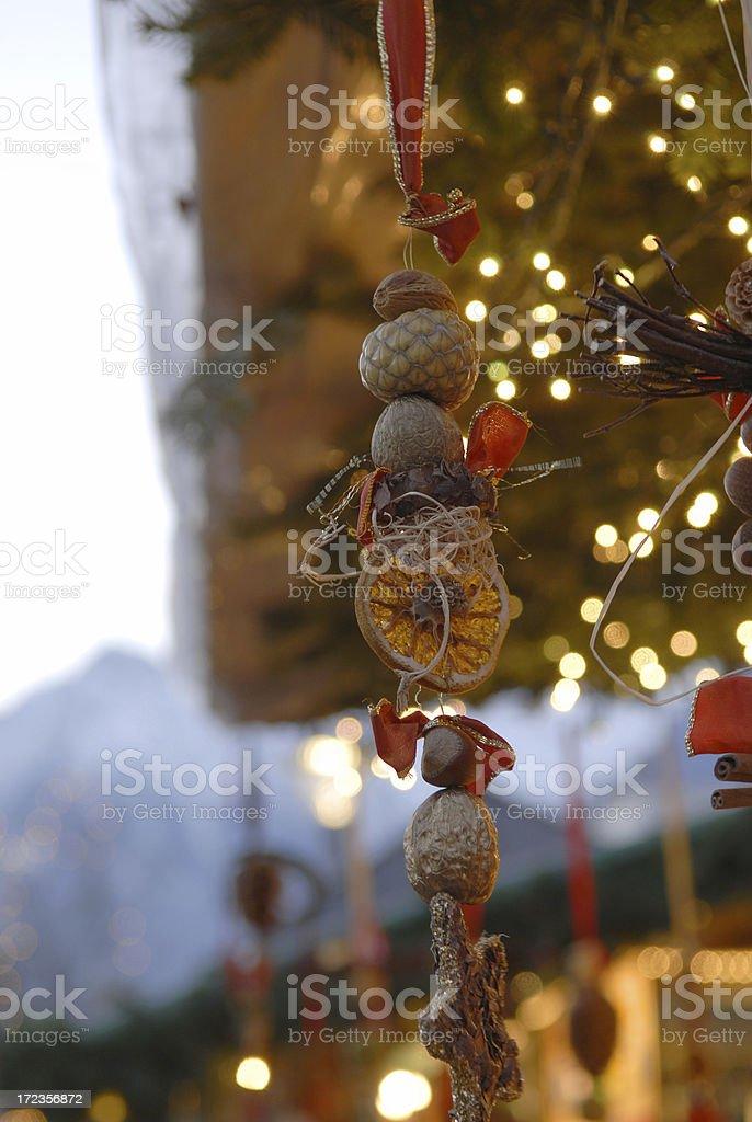 Decoración navideña foto de stock libre de derechos