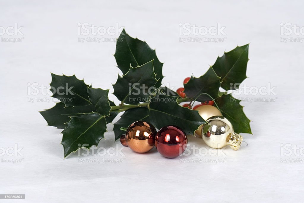 Christmas-Deko royalty-free stock photo