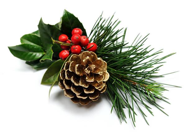 Decorazione natalizia - foto stock