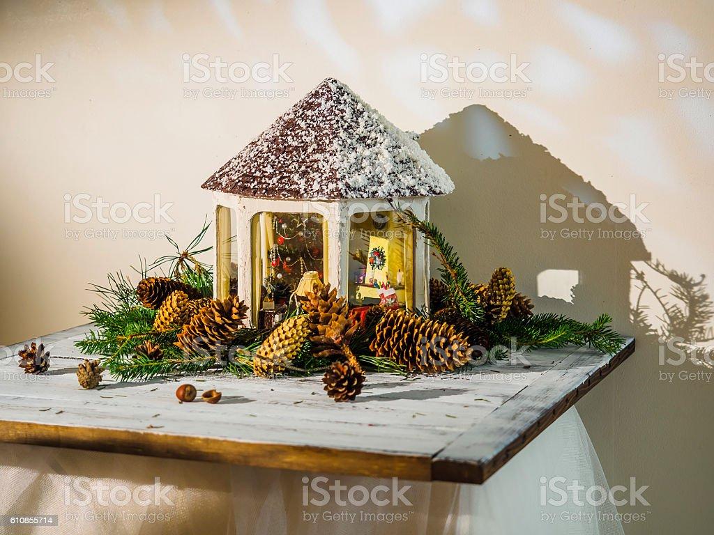 Рождественские украшения  стоковое фото