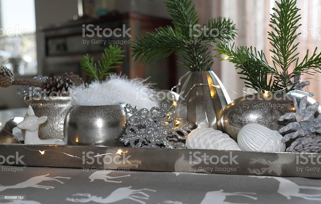 Weihnachtsdekoration stock photo