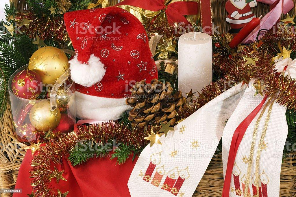 Decorazione natalizia. foto stock royalty-free