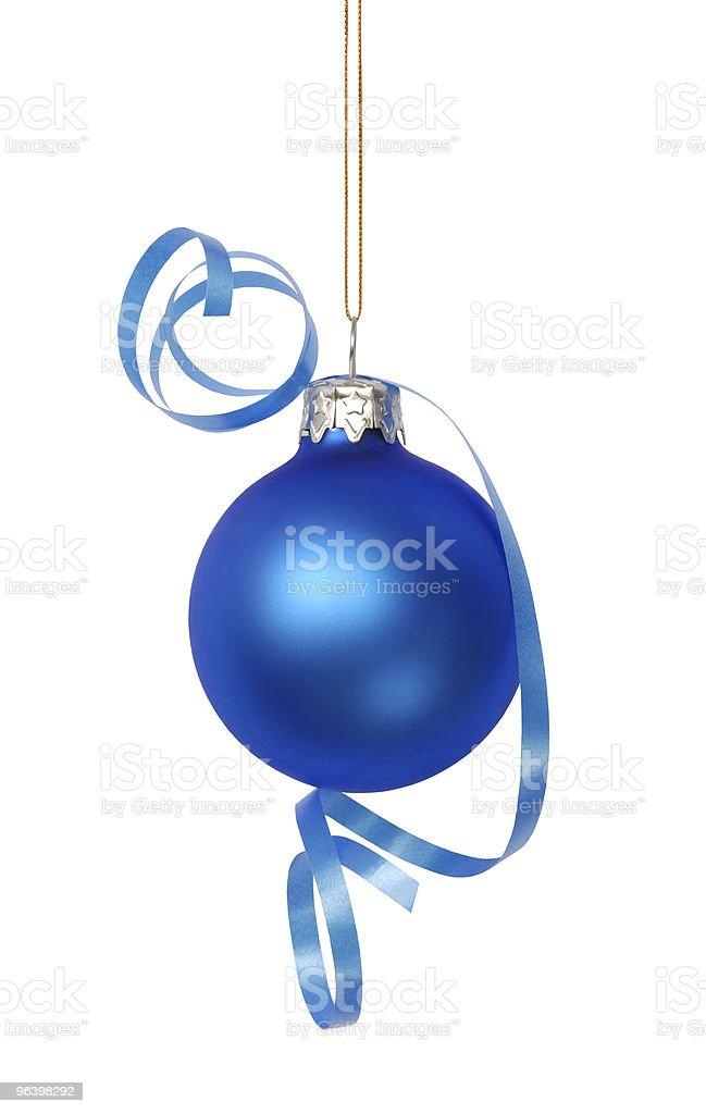 Christmas Decoration - Royalty-free Blue Stock Photo