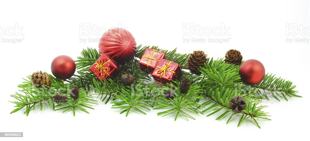 christmas decoration - Royalty-free Branch - Plant Part Stock Photo
