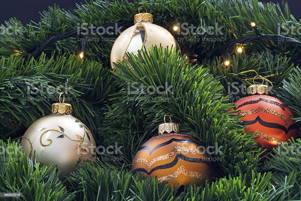 Christmas decoration royalty free stockfoto
