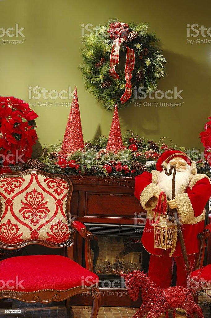 Decorazione natalizia foto stock royalty-free