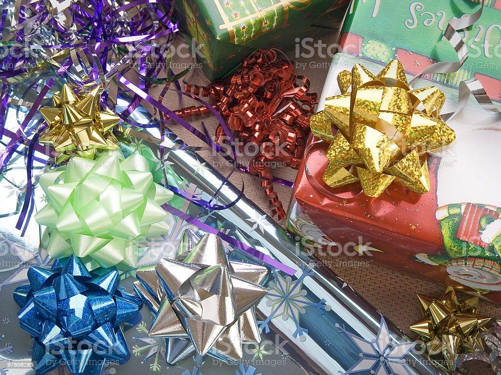 Christmas decoration series royalty-free stock photo