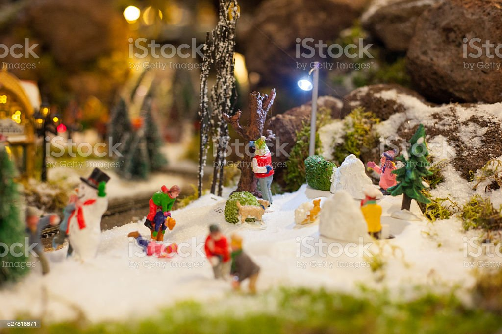 christmas decoration toys stock photo