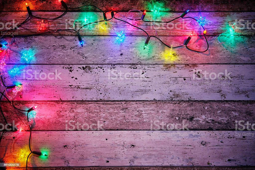 Christmas Decoration with Holiday Lights