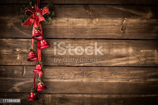Christmas Decoration with Ornaments and Holiday Lights