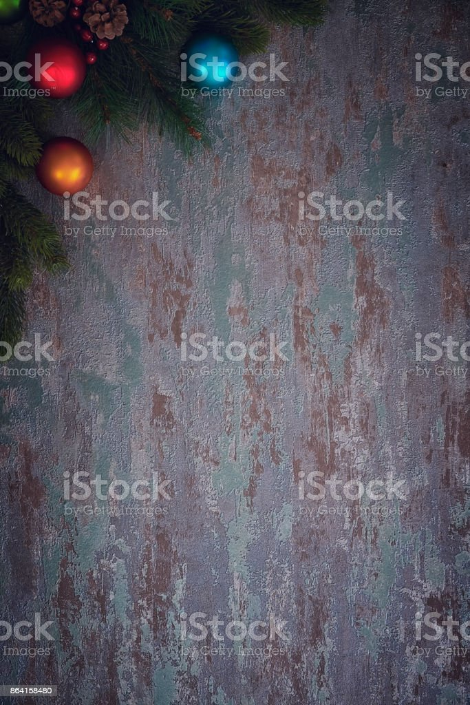 Christmas Decoration with Ornaments royalty-free stock photo