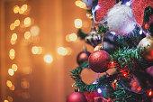 Christmas decoration-ornament on the Christmas tree.