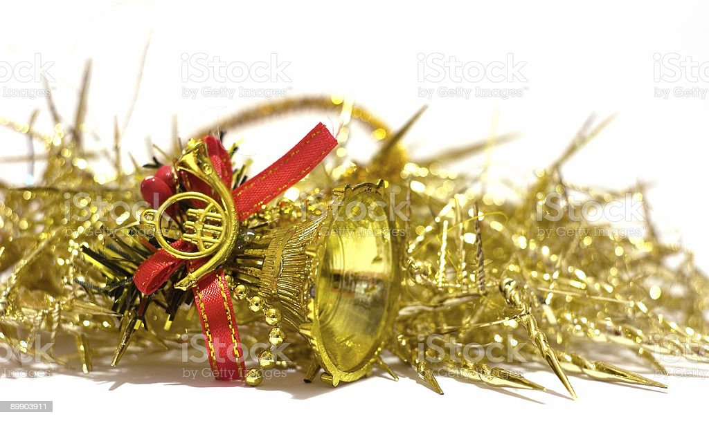 Christmas decorations bell royalty-free stock photo