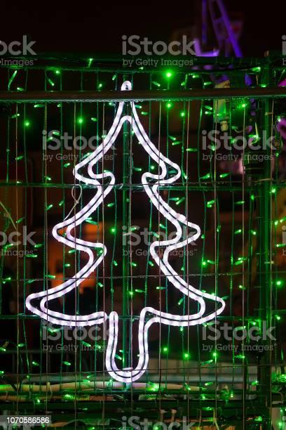Photo of Christmas decorations, fir tree