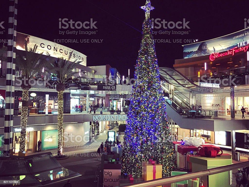 Immagini Natale Usa.Decorazioni Natalizie Di Santa Monica California Stati Uniti