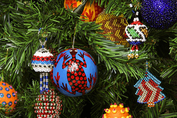 south africa bead christmas christmas decoration pictures images and stock photos - African Christmas Decorations