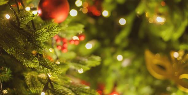 クリスマス装飾アウトドア - クリスマスツリー ストックフォトと画像