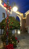 istock Christmas decorations 1124801269