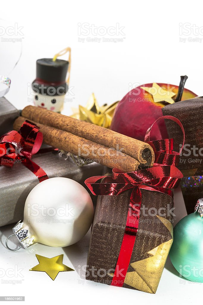 Christmas decorations. royalty-free stock photo