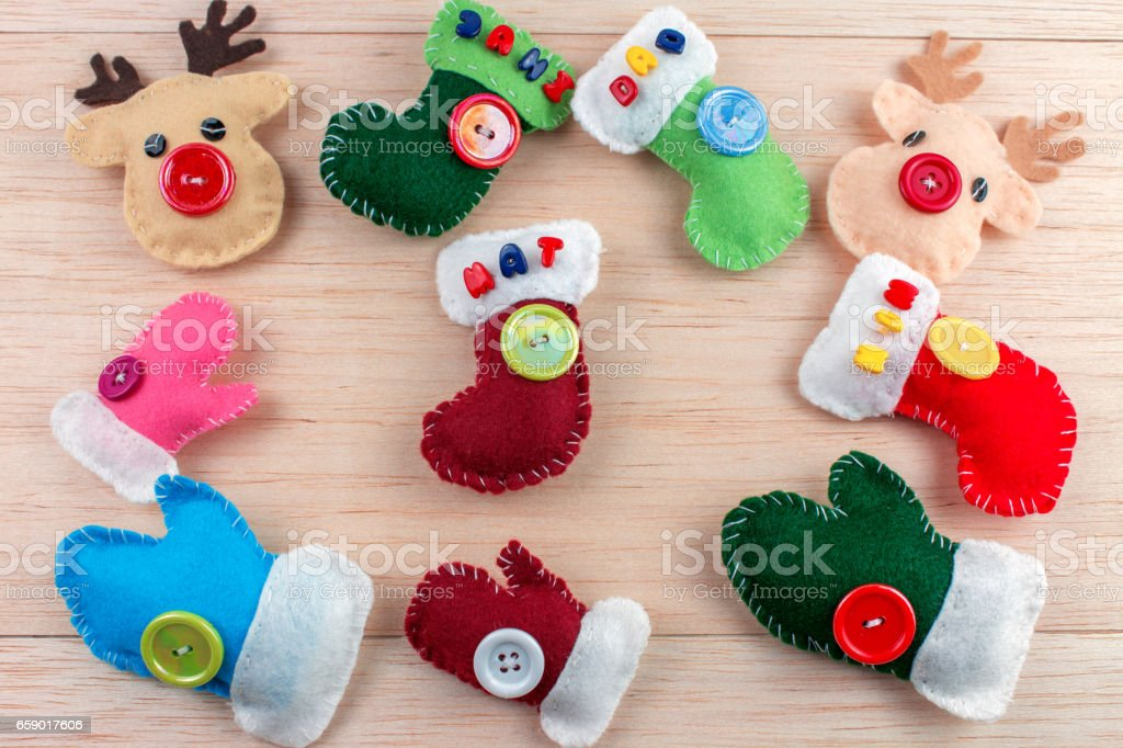 Adornos navideños royalty-free stock photo
