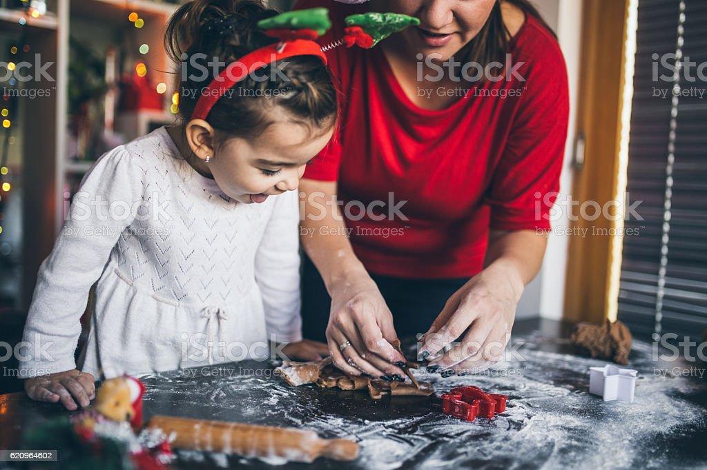 Christmas delights stock photo