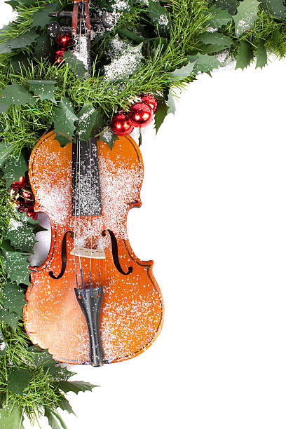 Christmas Violin.Best Christmas Violin Stock Photos Pictures Royalty Free