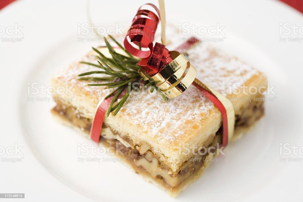 Christmas Dessert royalty-free stock photo