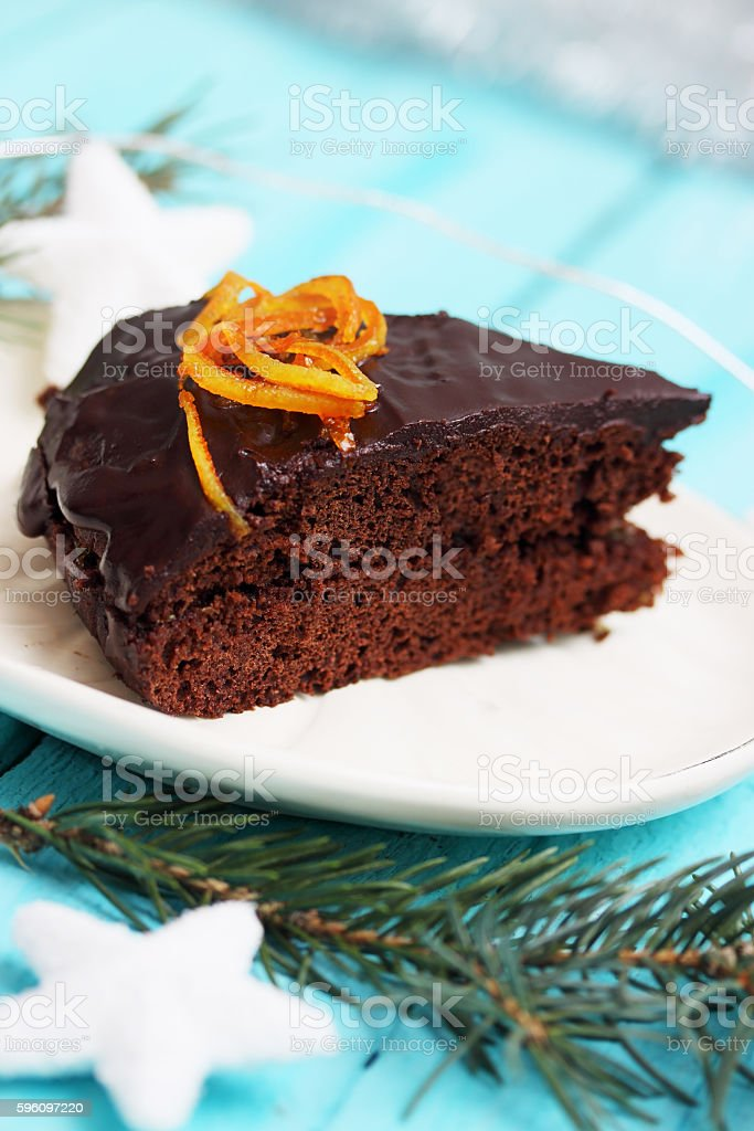 Christmas dessert royalty-free stock photo