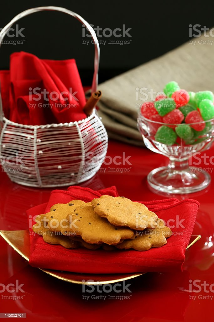 Christmas Desserts royalty-free stock photo