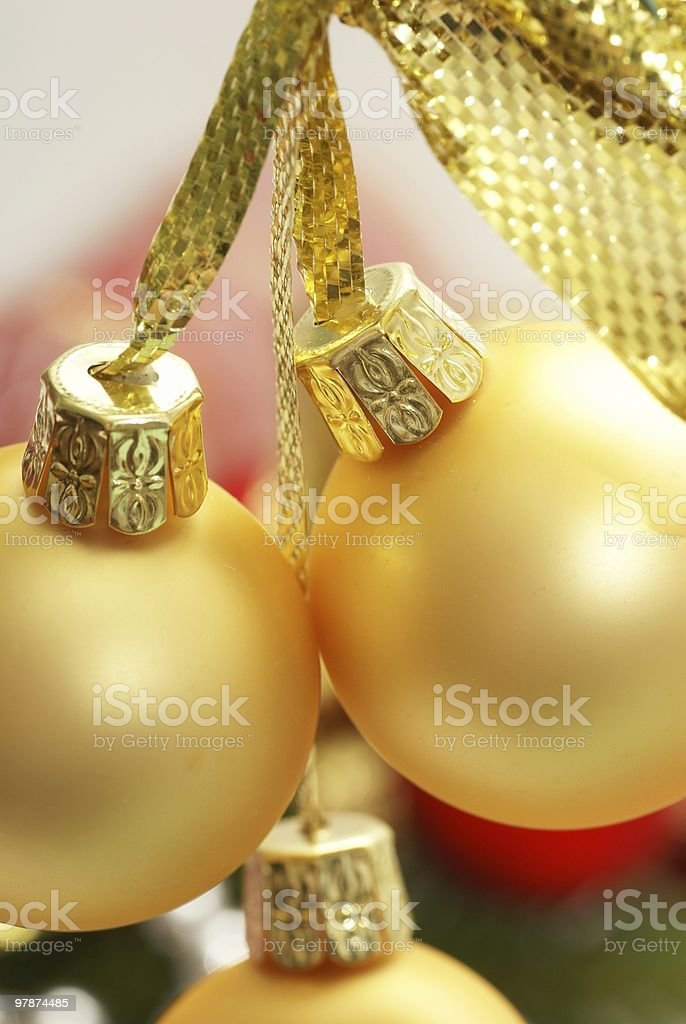 Christmas detail royalty-free stock photo
