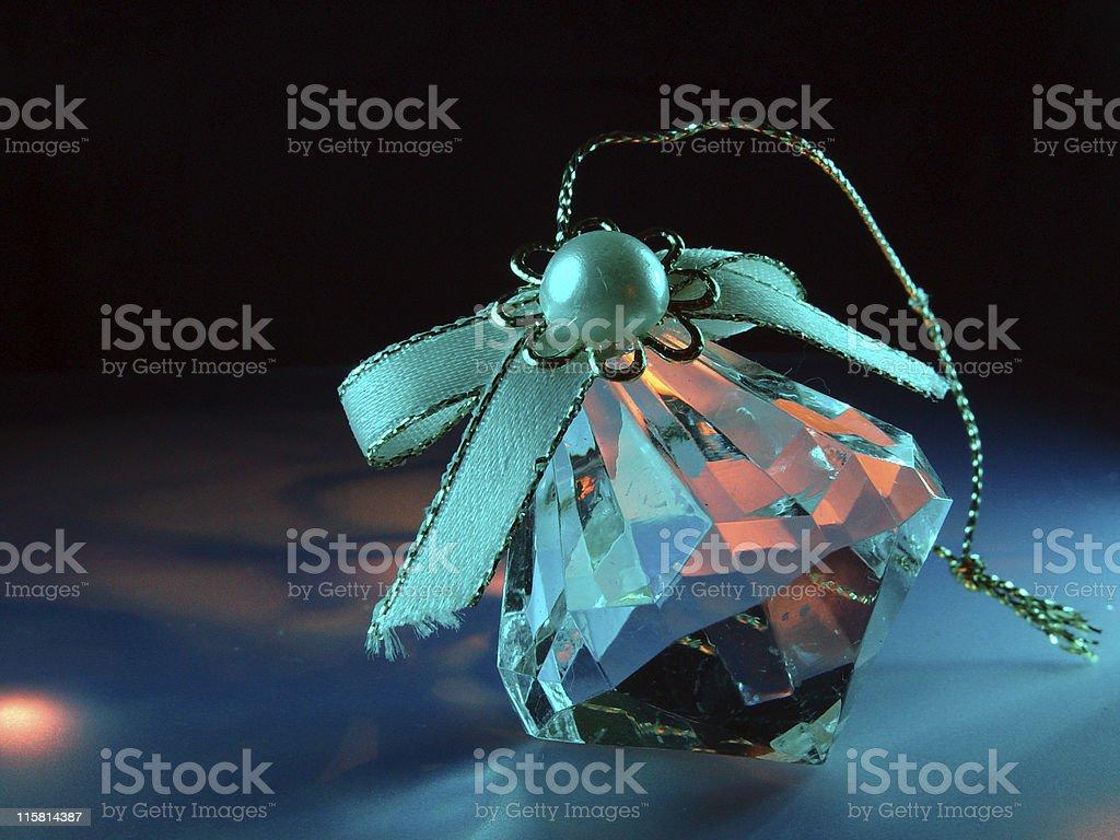 Christmas Diamond Ornament royalty-free stock photo