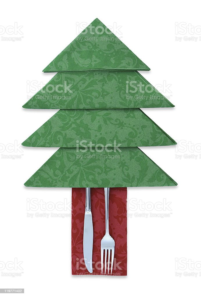 Christmas Dinner Concept royalty-free stock photo