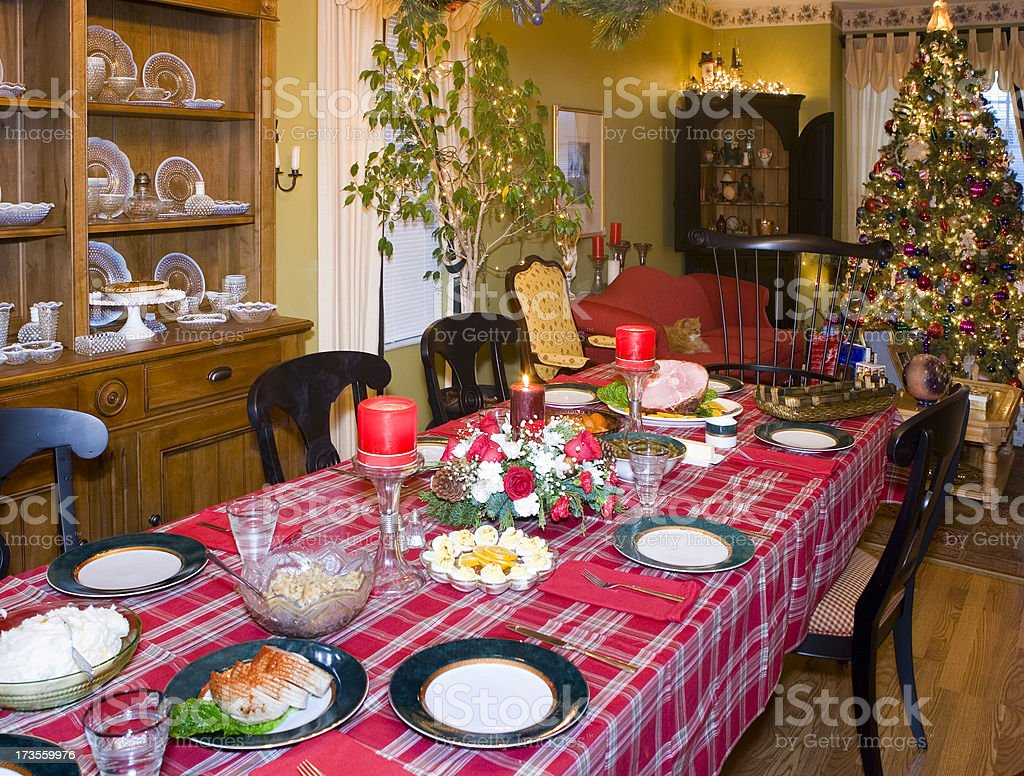 Christmas Dinner is Ready royalty-free stock photo