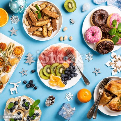 1064325668istockphoto Christmas dinner party table 1183735561