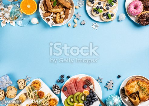 1064325668istockphoto Christmas dinner party table 1183735577