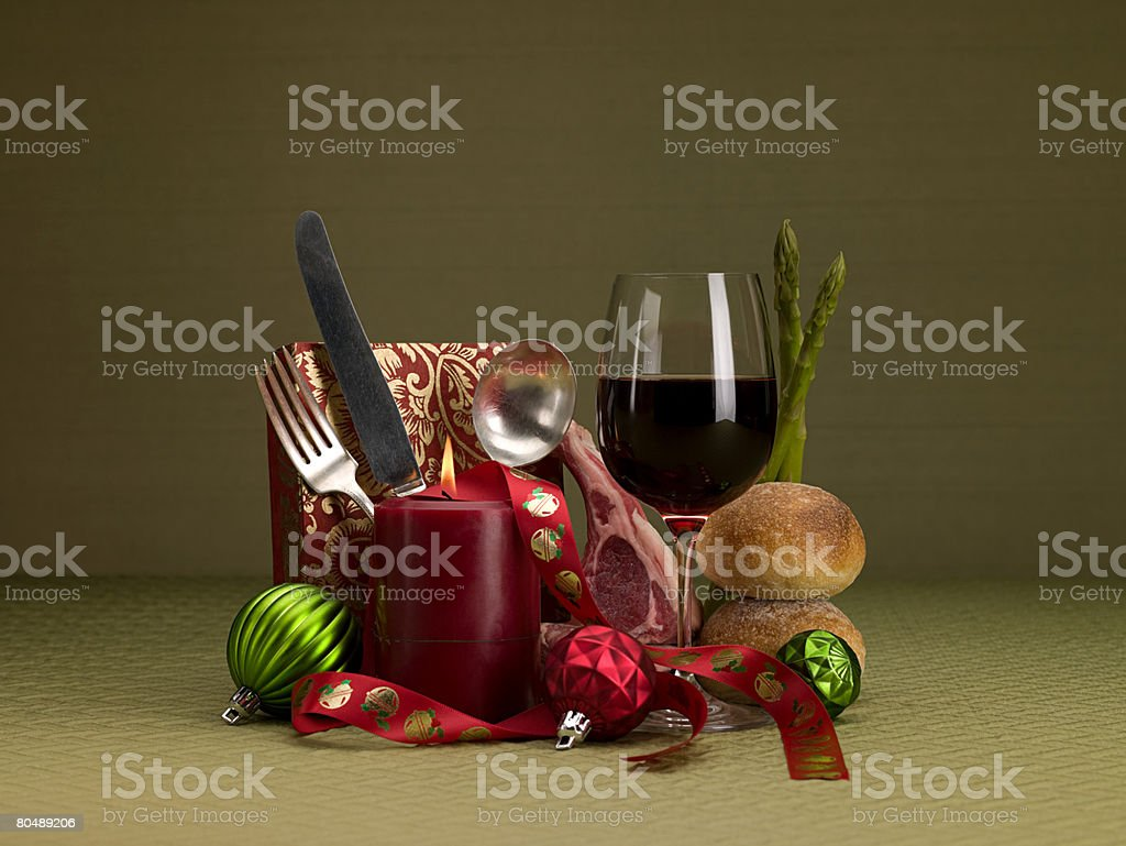 Cartaz de Natal foto de stock royalty-free