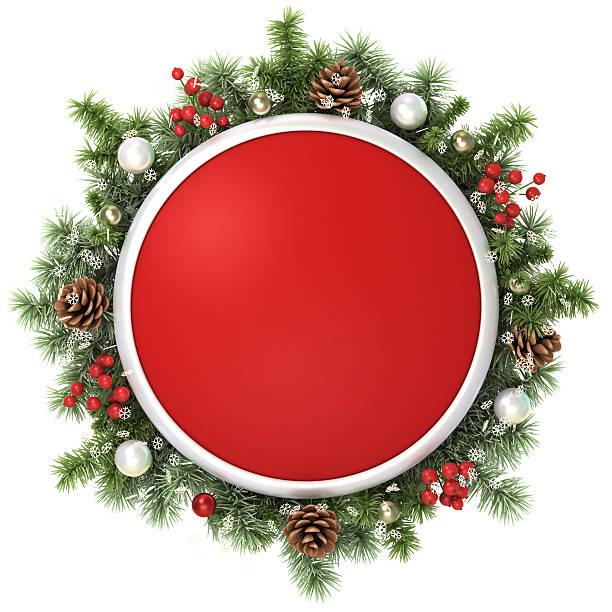 Weihnachten frame. – Foto