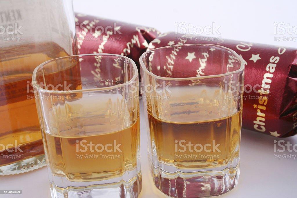 Christmas drinks royalty-free stock photo