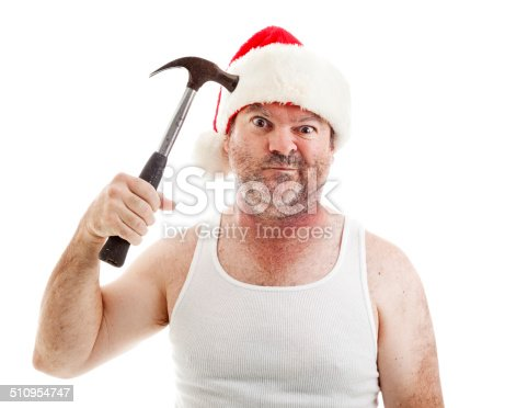 istock Christmas Drives Me Crazy 510954747